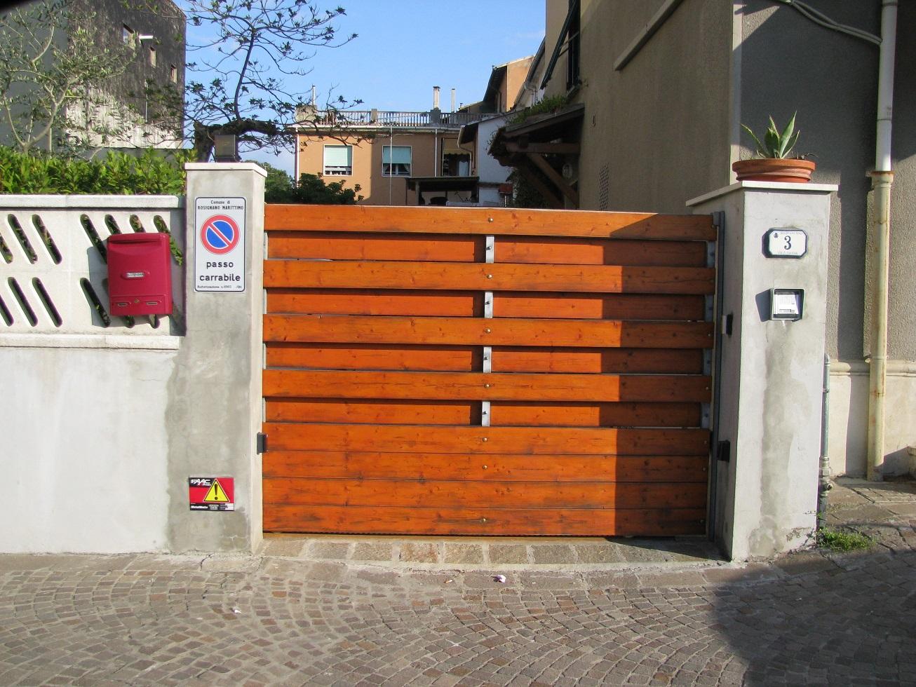 Cancelli Di Legno Fai Da Te : Cancello in ferro e legno fai da te le foto della nostra attività